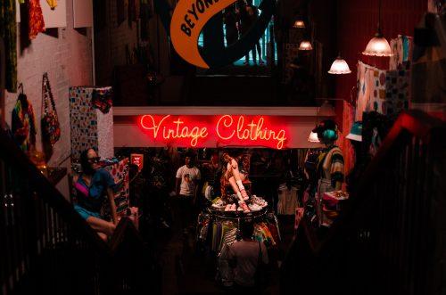 Boutique vêtements vintage
